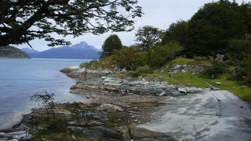Paysage parc national Ushuaia