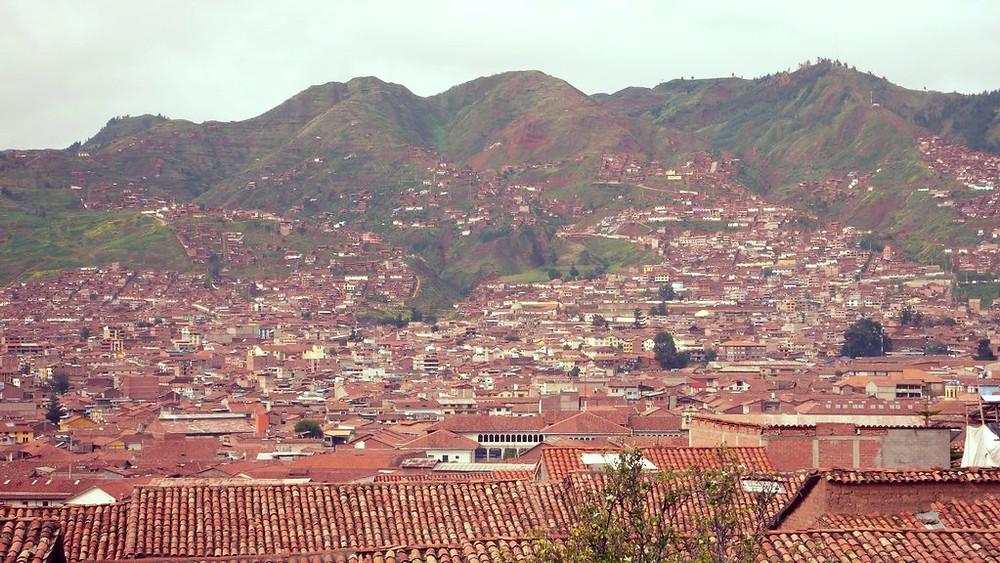 Montagne Cuzco Perou