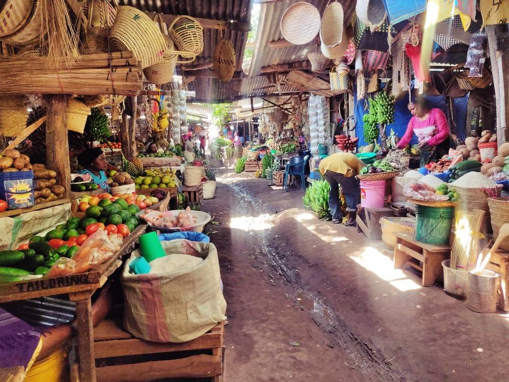 marché central de Mto wa Mbu