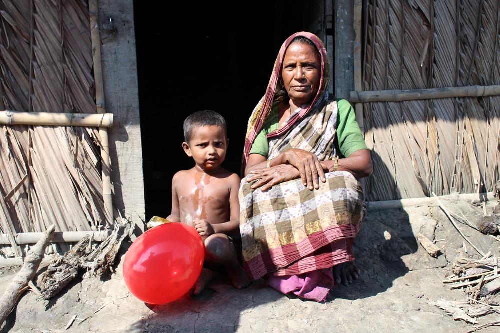 femme enfant Sundarbans au Bangladesh