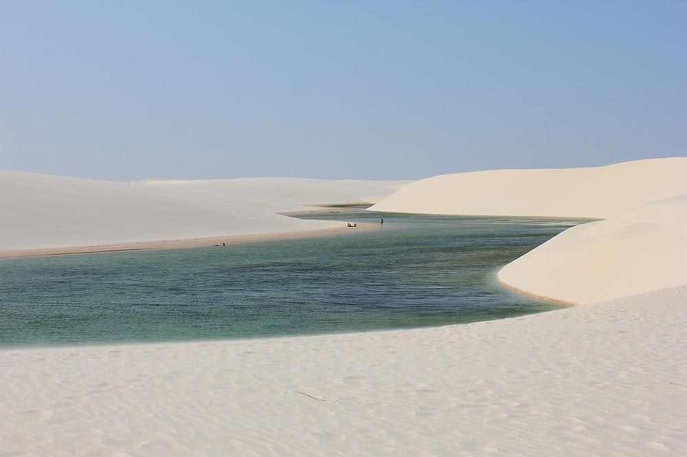 visiter le désert blanc des Lençóis Maranhenses