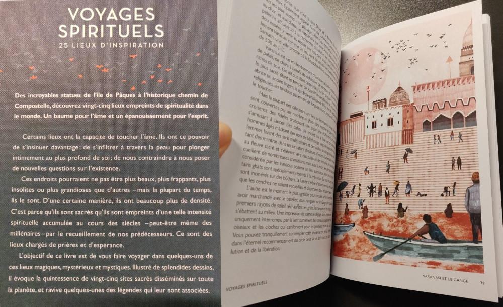 Voyages spirituels couverture