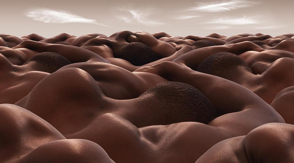 Le désert des hommes endormis Carl Warner