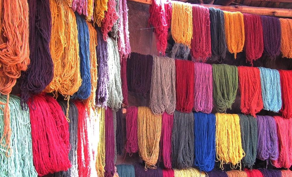 Chinchero laine marché