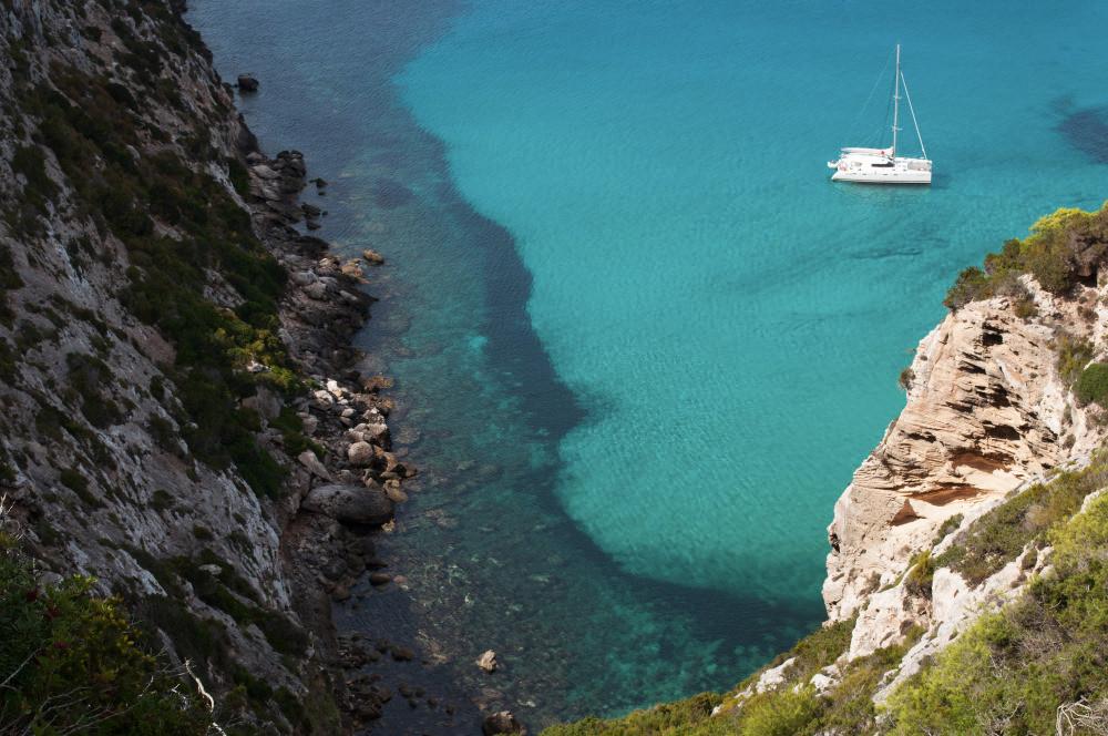 Formentera catamaran