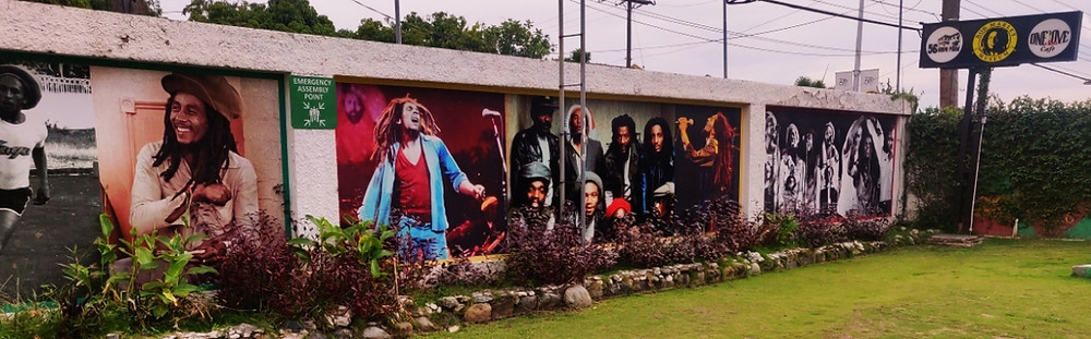 Entrée musée bob marley Kingston Jamaïque