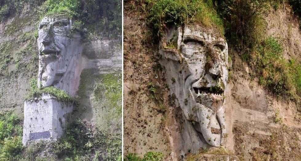 visage du diable equateur