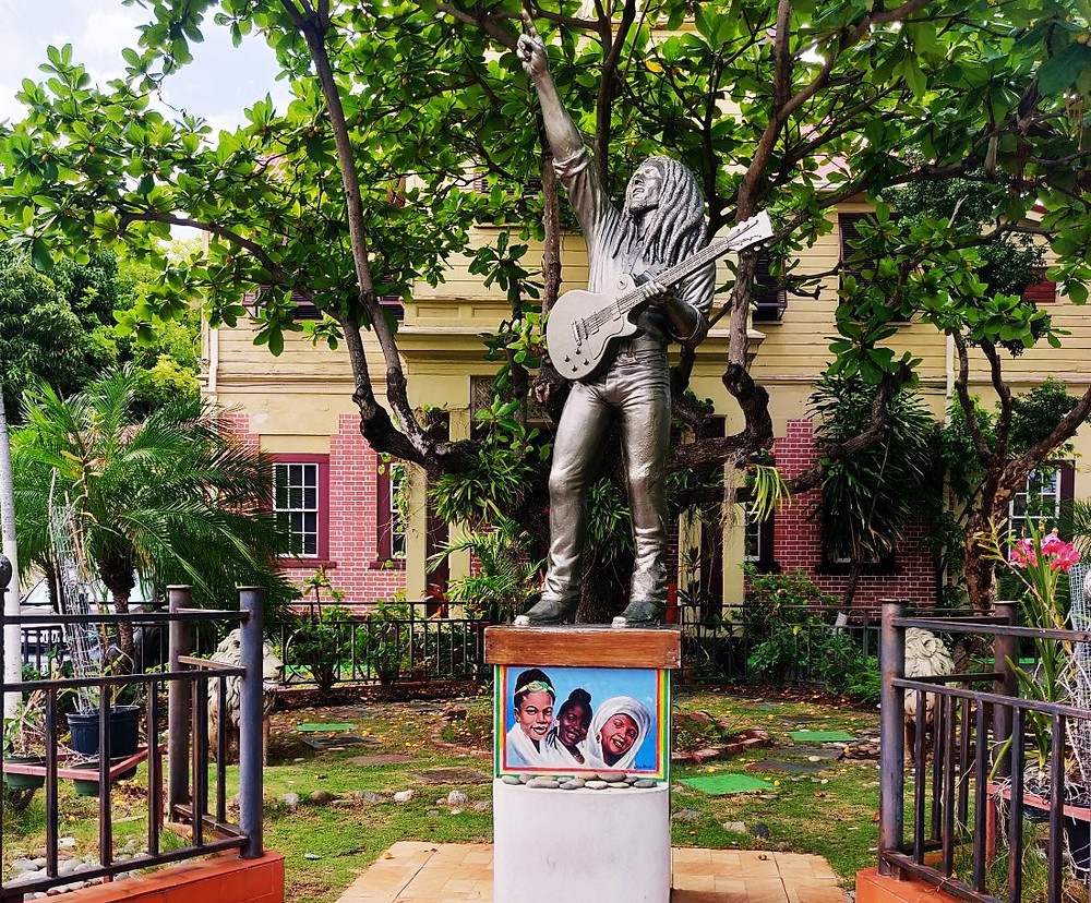 Statue Bob Marley Kingston