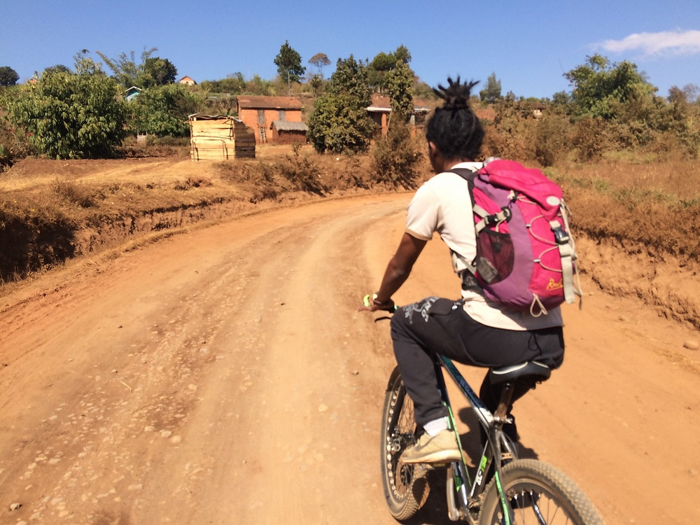 Lac Tritriva Madagascar à vélo