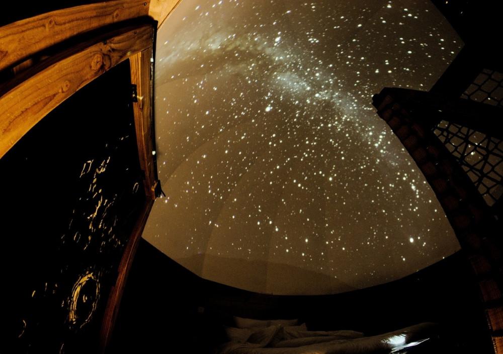 """Cabane dans les arbres vosges """"La Voie Lactée"""" Belfahy"""