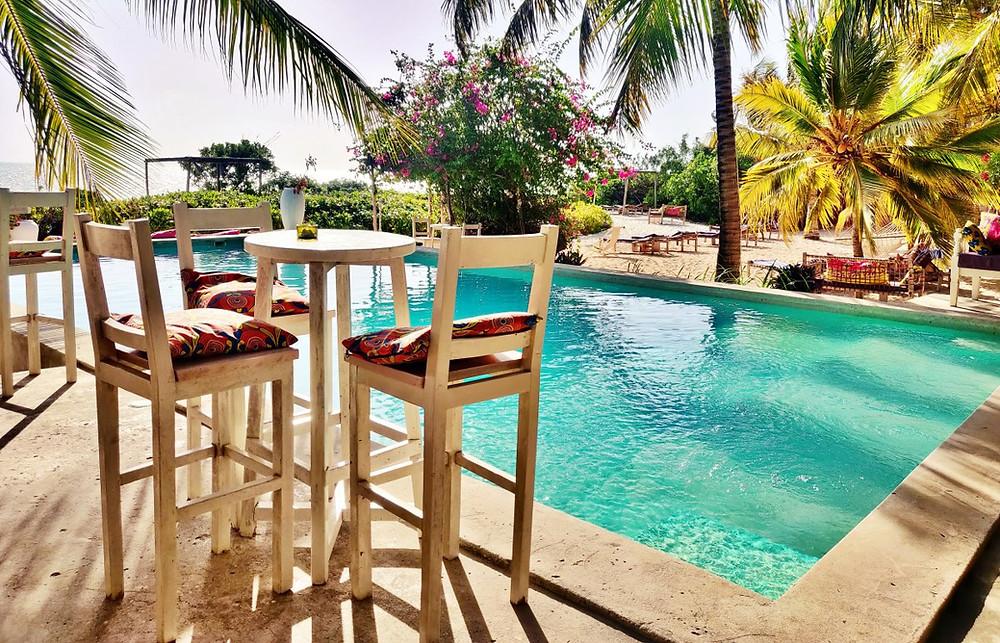 piscine Sharazād Boutique Hôtel à Jambiani
