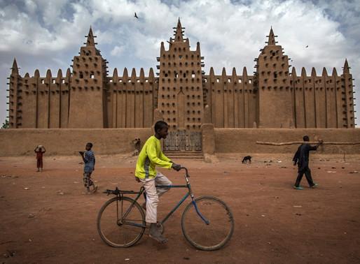 La Grande mosquée de Djenné au Mali