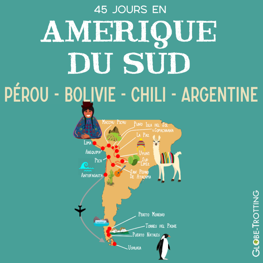 Périple Amérique du Sud Ushuaia