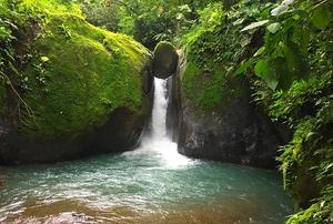 Cascade El Pavón au Costa Rica