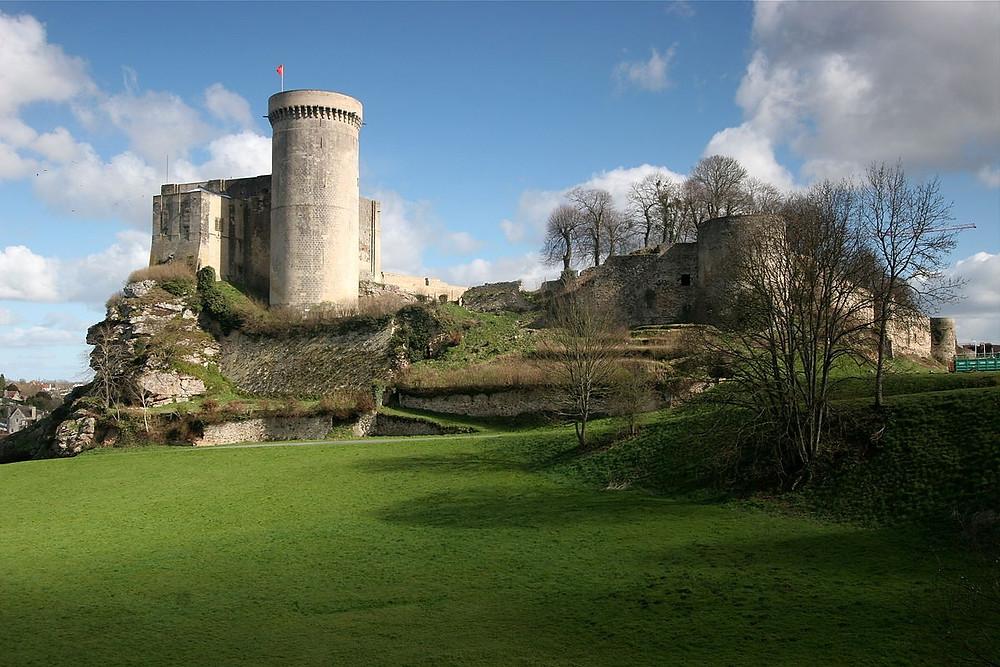 Normandie médiévale Chateau de Falaise