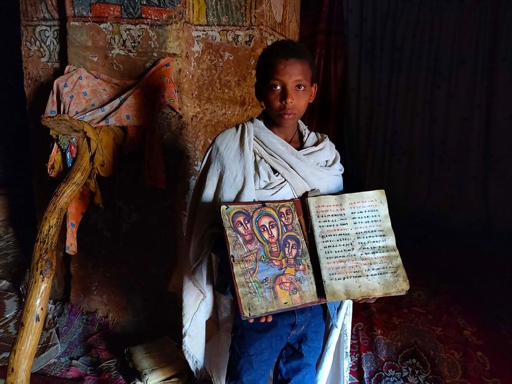 Gheralta Abuna Yemata bible prêtre
