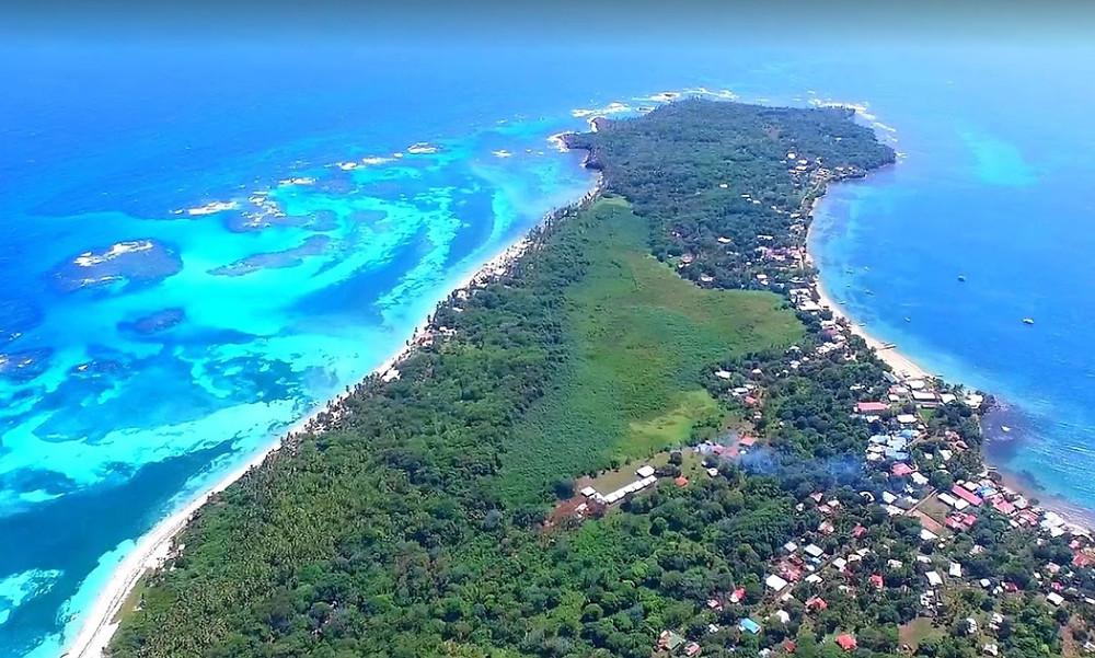 petite île Corn Nicaragua