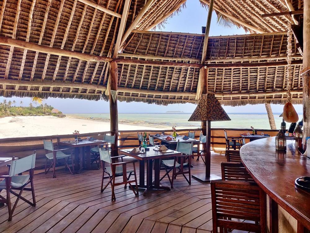 restaurant Sevi Boutique Matemwe