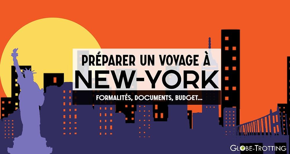 préparer un voyage à New-York