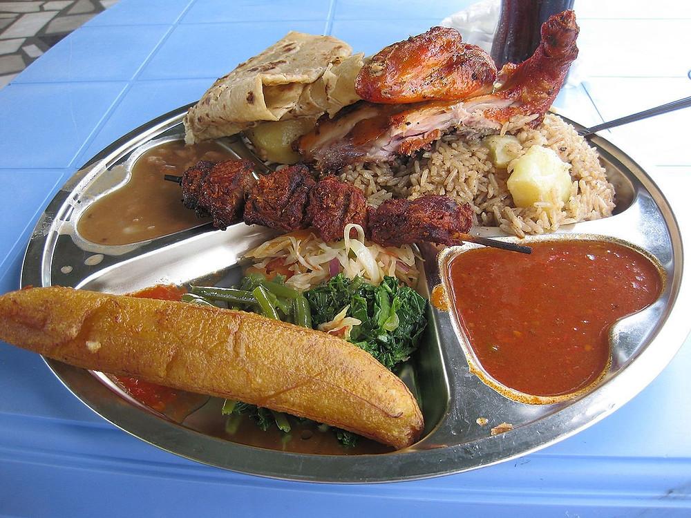 restaurant local à arusha