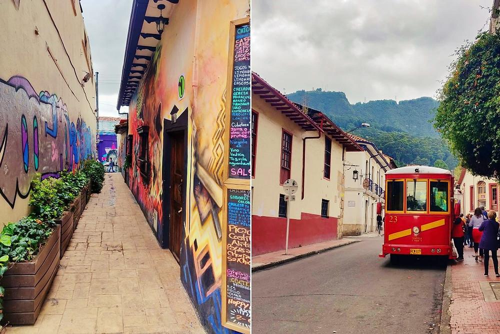 Rue La Candelaria Bogota
