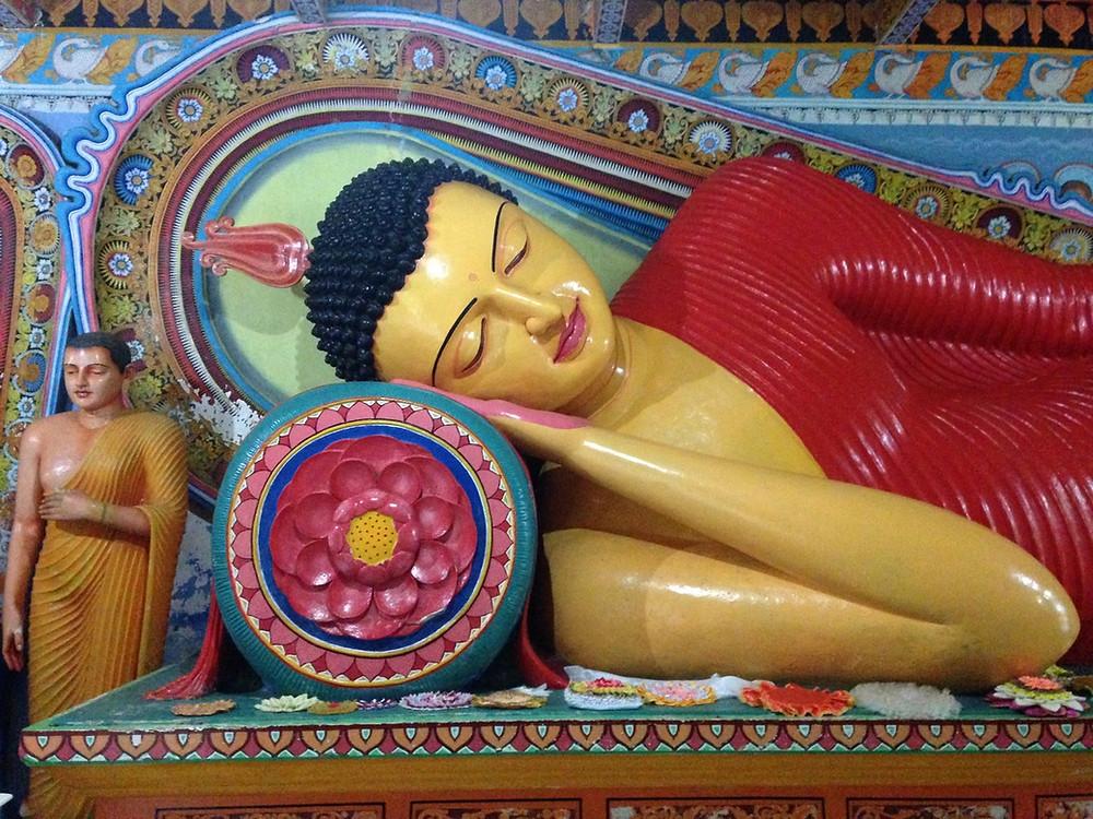 bouddha Anurâdhapura au Sri Lanka