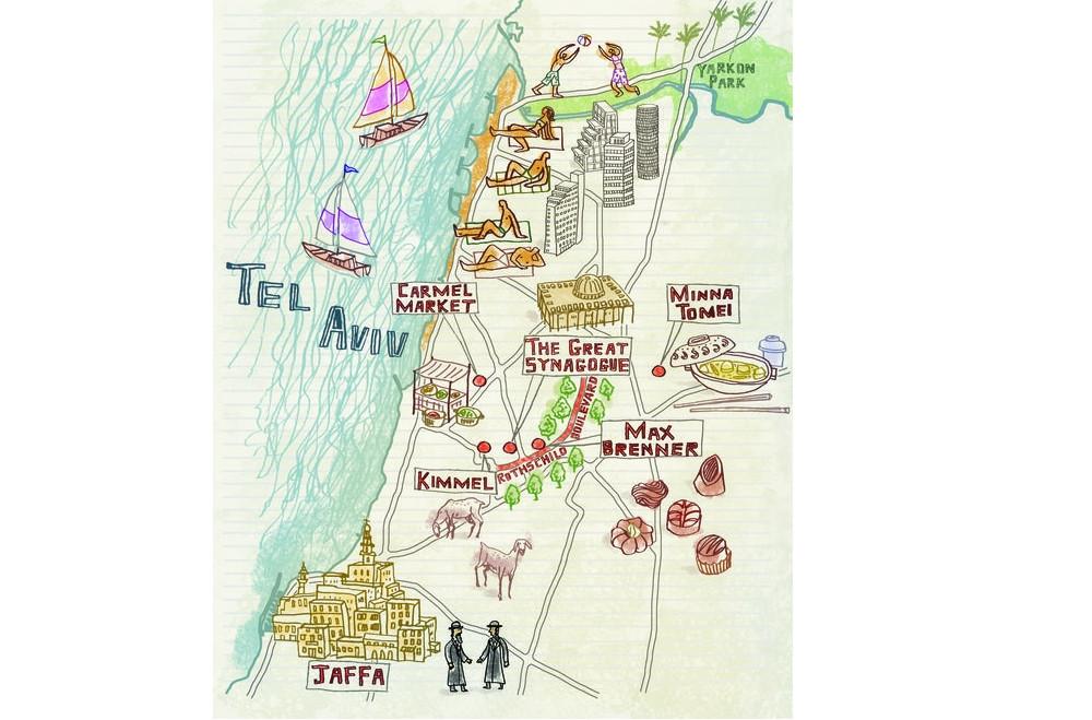 Tel aviv blog voyage israel