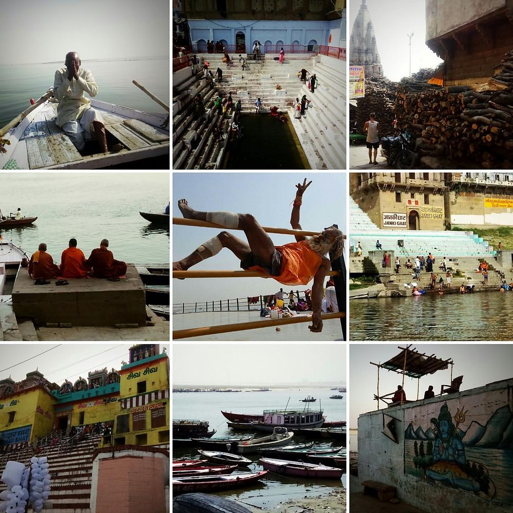 Visiter seule Varanasi