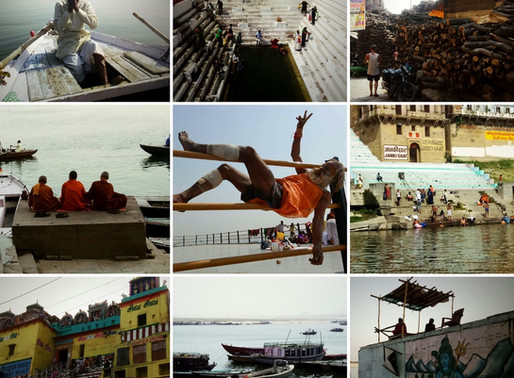 Varanasi, dix jours dans la Ganges Nirvana Community