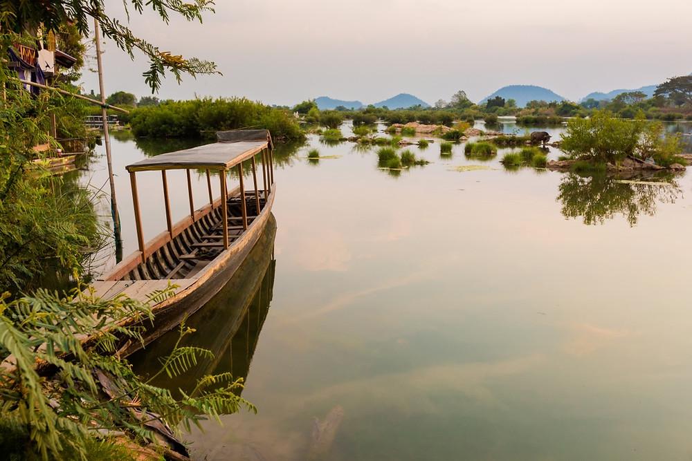 4000 iles Laos paysage