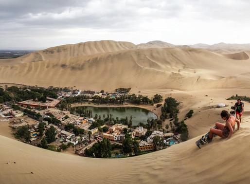 L'Oasis de Huacachina au Pérou