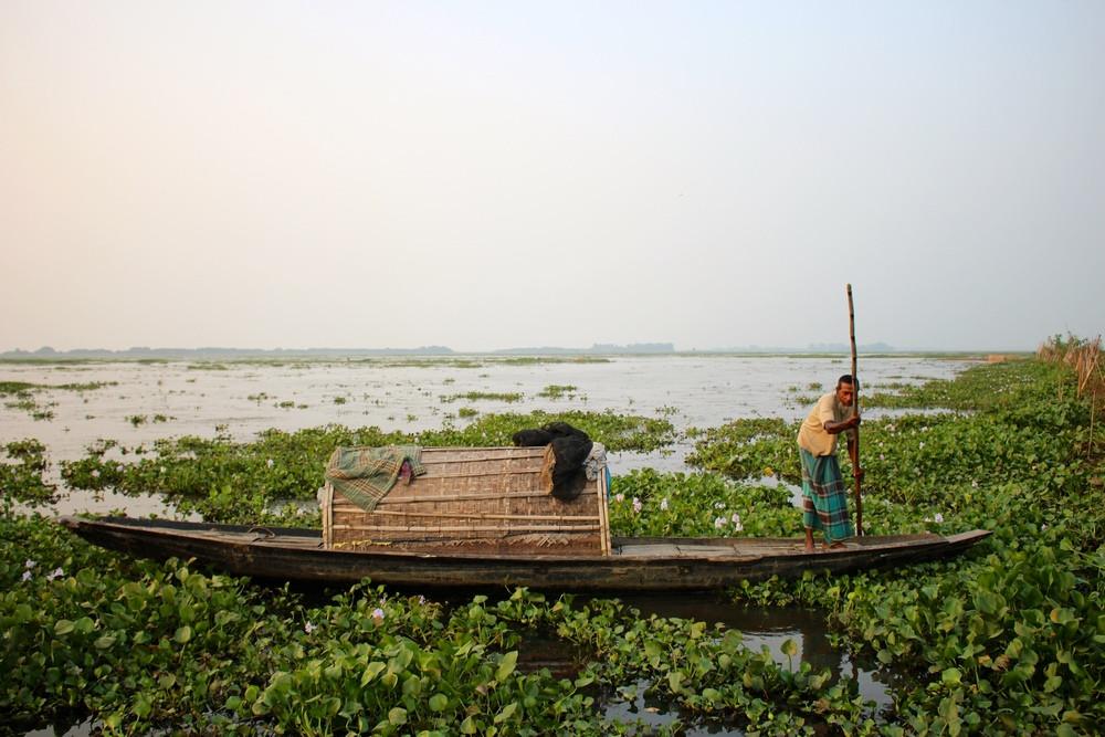 Lac Madhabpur pêcheur sreemangal bangladesh