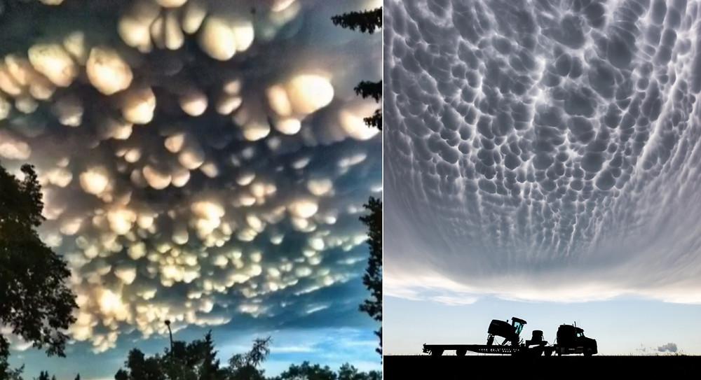 Les nuages Mammatus