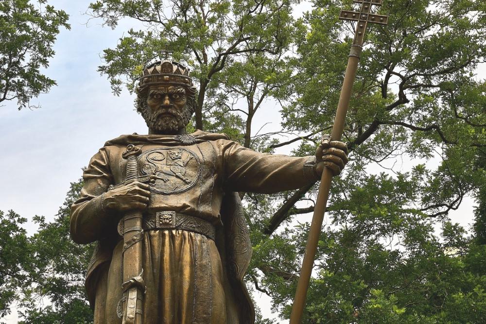 ville sofia à voir statues jardin