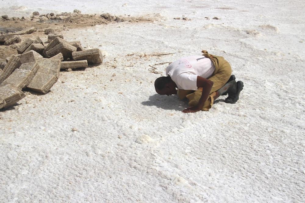 Le lac Karoum Afar prière