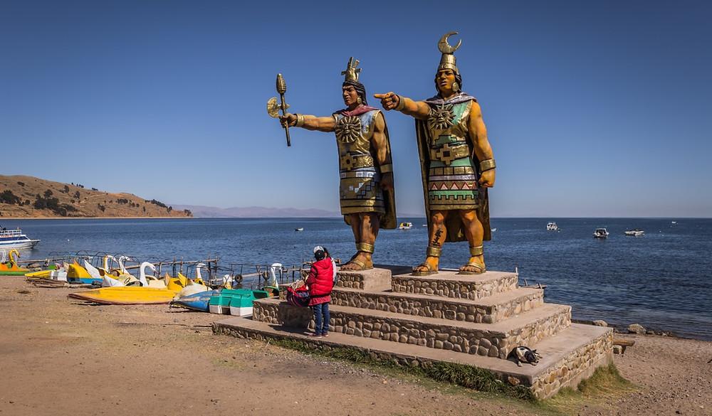 Copacabana Bolivie rives titicaca