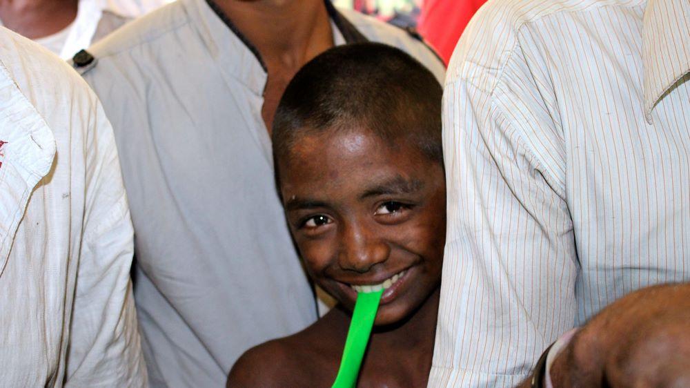enfant des rues Gare Dhaka Bangladesh