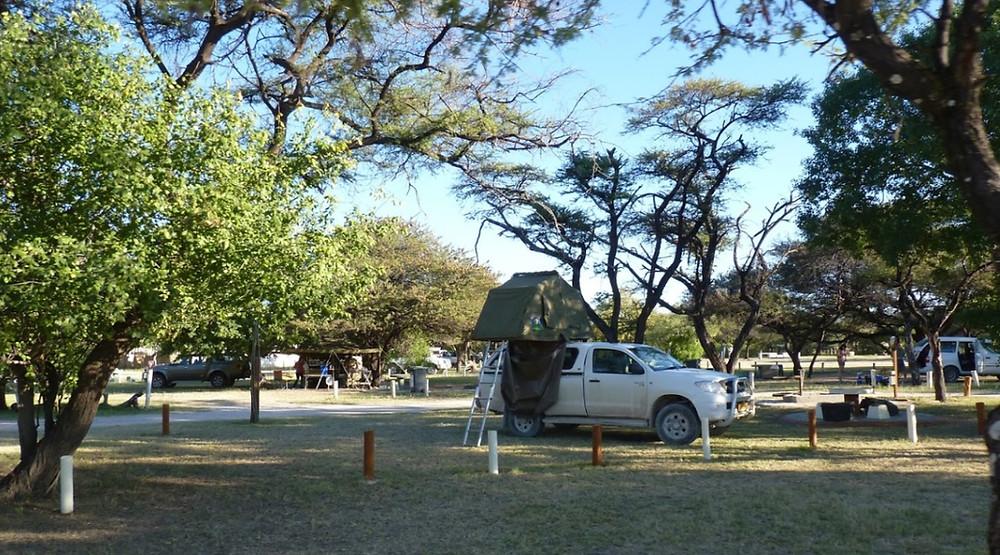 Namutoni  Etosha Namibie