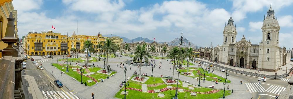 centre historique de Lima Pérou