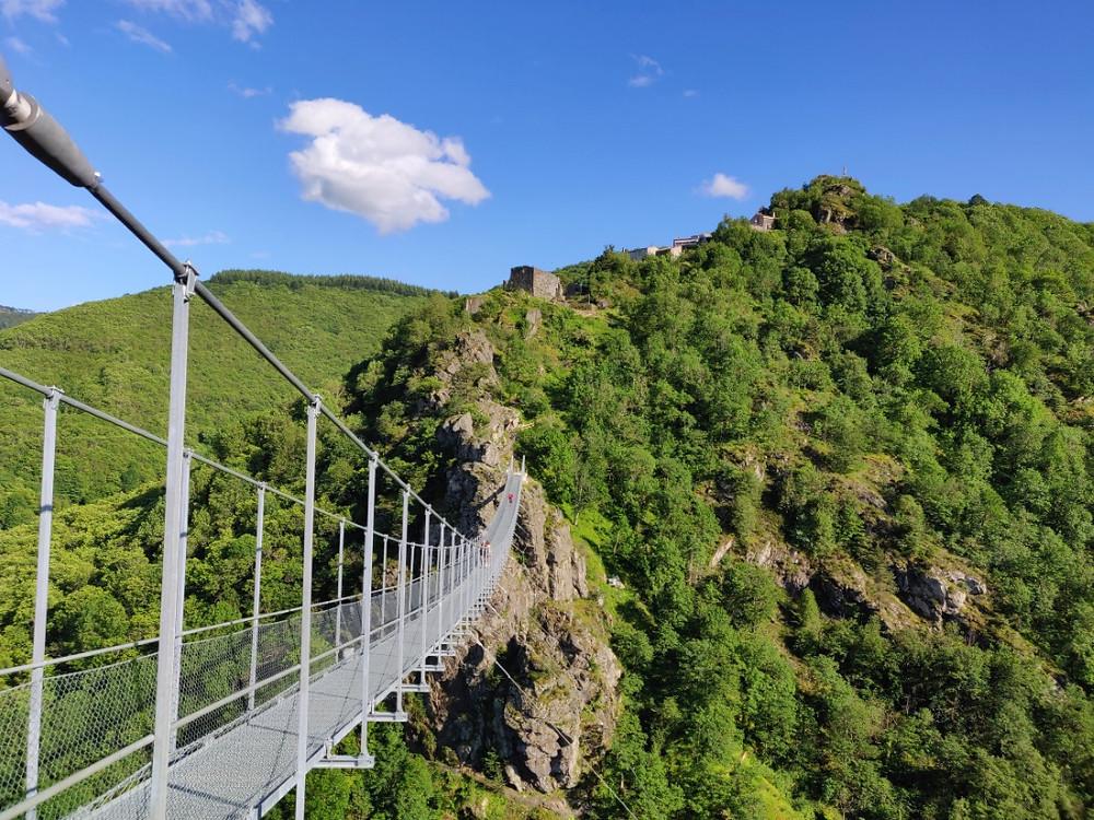 Randonnée Tarn Passerelle de Mazamet