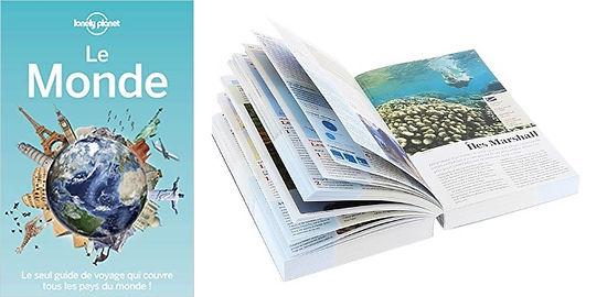 Livre voyage Le Monde