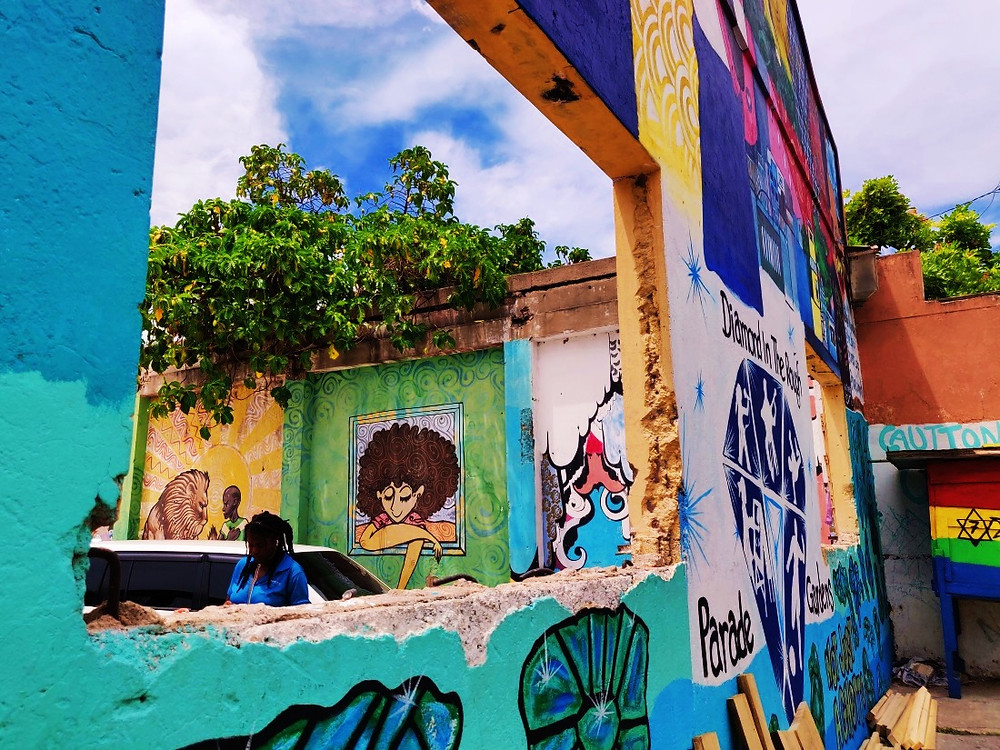 Street Art Kingston Jamaïque