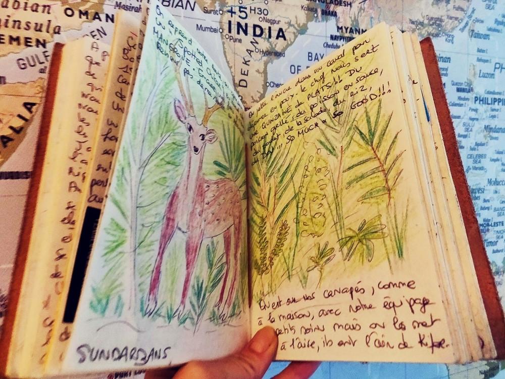 Carnet de voyage Sundarbans