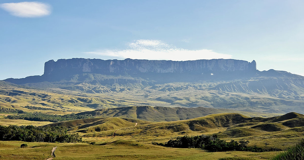 monte, tepuy ou cerro Roraima venezuela