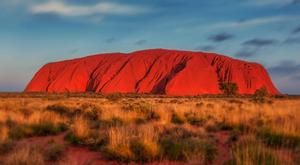 Uluru outback australie