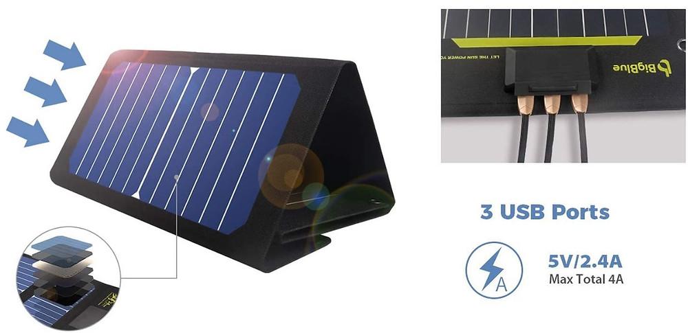 petit panneau solaire voyage