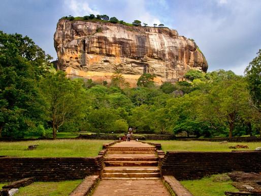Sigiriya, Le Rocher du lion au Sri Lanka