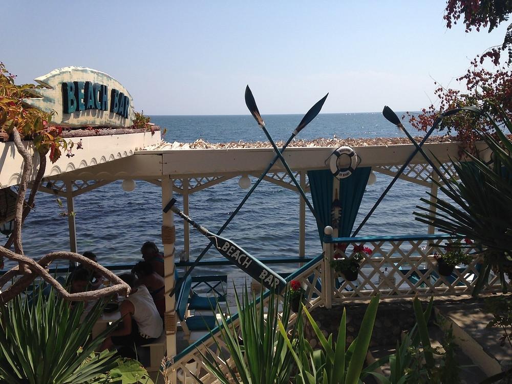 bord de mer Nessebar bulgarie
