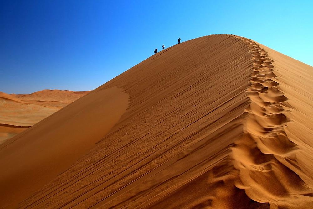 ascension dunes de Sossusvlei