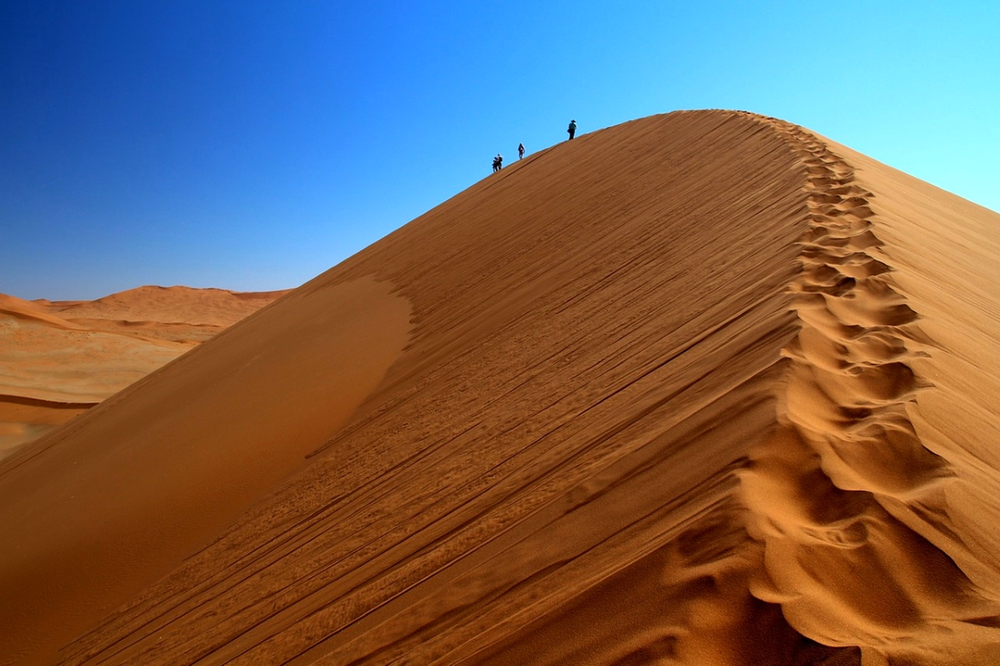 ascension dunes de Sossusvlei